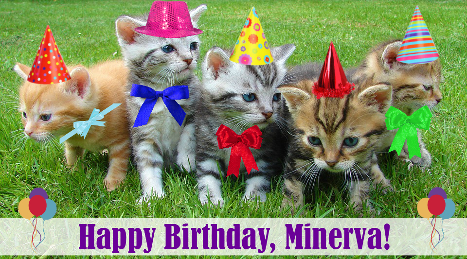 Minerva Birthday