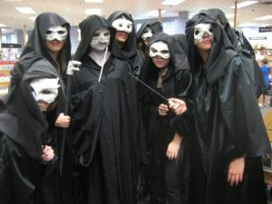 Voldy and Death Eaters